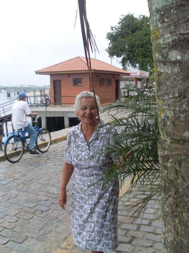 Mamãe em Paranaguá
